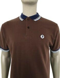 Trojan Records Men/'s TC1009 Signature Pique Polo Shirt Rasta Trojan Polo