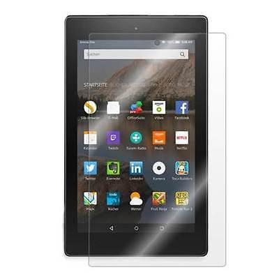 2017 2X All New Fire HD 8 Tablet w// Alexa Anti-Glare Matte Screen Protector