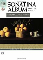 Sonatina Album For The Piano (book And Cd) (alfred Cd Edition) By Louis Kohler,