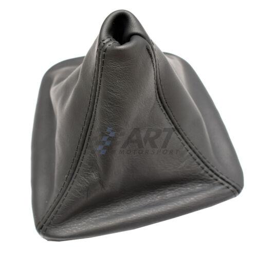 Pomo y funda para Bmw E46 Coupé en cuero negro con fijación de pomo a presión