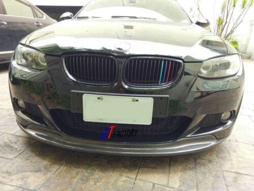 CARBON FRONT LIP SPOILER AK STYLE FOR BMW E92 E93 M TECH M SPORTS PRE FACELIFT