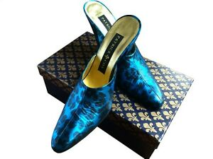 Patrick Cox Blue Leopard Shoes Made in Italy Never Worn European ...