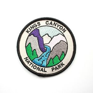 Official Sequoia and Kings Canyon National Park Souvenir Patch California Parks