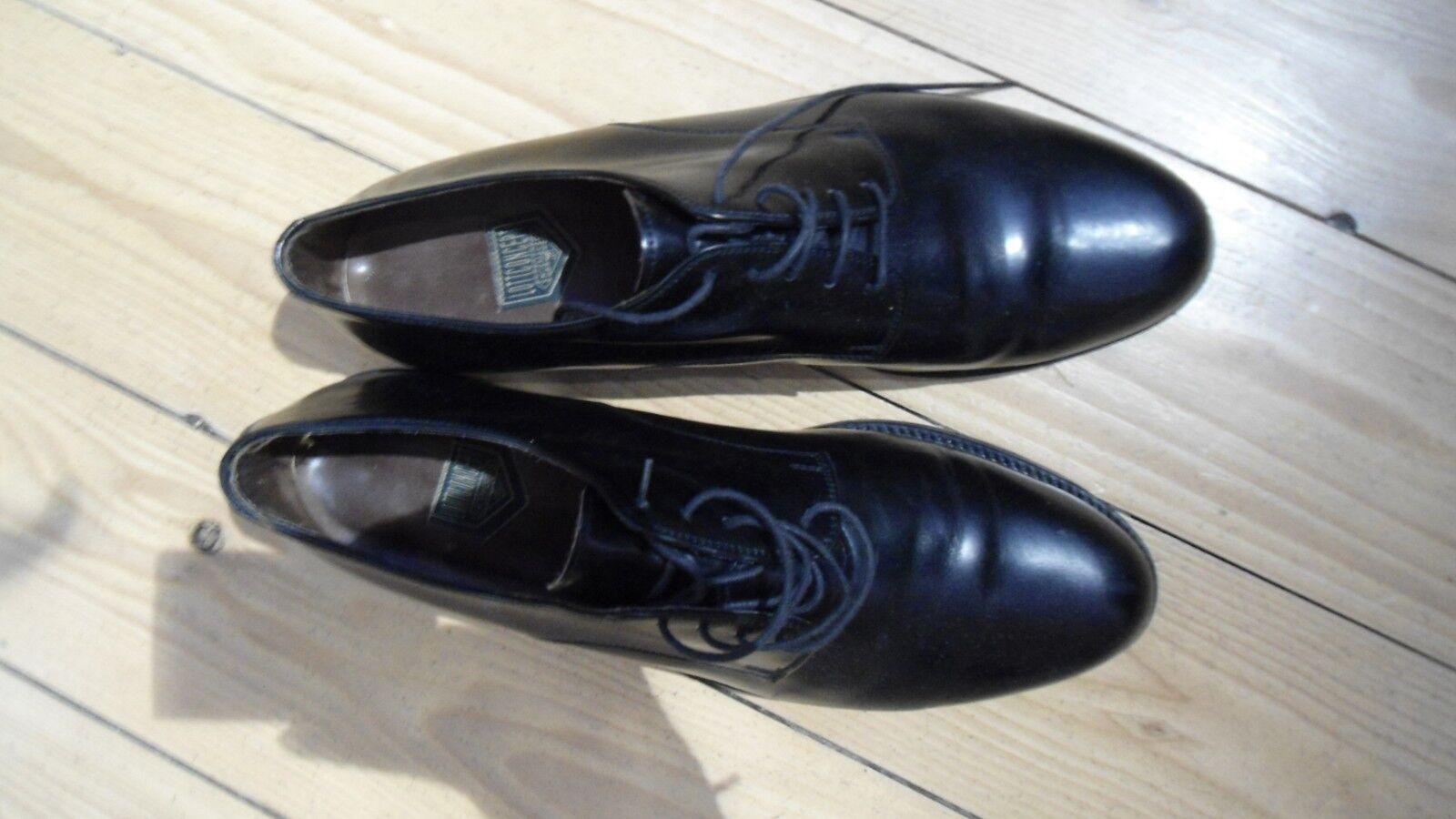 Original Luxus Designer Schuhe Lottconcept Gr. 10,5 45 schwarz