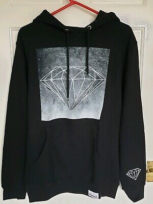 DIAMOND SUPPLY Sweat à Capuche Sweat Shirt en Noir Taille S Bnwt | eBay