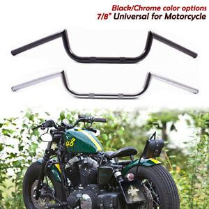 """Handlebars Type-A Street Black 7//8/"""" Cafe Racer Bobber Chopper Custom Tracker"""