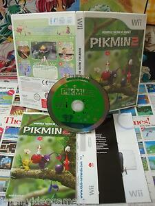 Nintendo Wii Pikmin 2 Top 1st Edition Rare Vip Complete