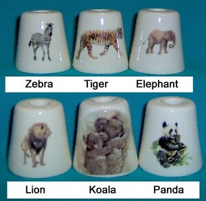 3-Lion-Tiger-Panda-Koala-Zebra-Lion-Elephant-Cigarette-Snuffers-180-Designs