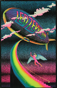Vintage-Led-Zeppelin-Poster-Home-Decor-Canvas-Print-choose-your-size