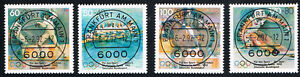 GERMANIA-4-FRANCOBOLLI-PRO-SPORT-1992-timbrato