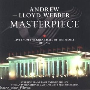 ANDREW-LLOYD-WEBBER-MASTERPIECE-Audio-CD-Bonus-DVD