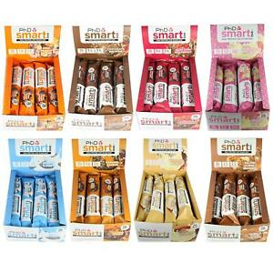 PHD-Nutrition-Box-of-12-Smart-Bar-High-Protein-Low-Sugar-Individual-amp-Mixed-Box