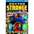 Doctor Strange: The Montesi Formula by Marv Wolfman (Paperback, 2015)