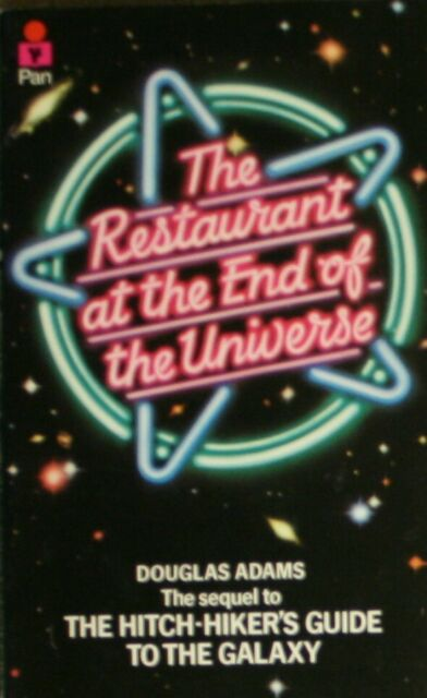 """""""AS NEW"""" The Restaurant at the End of the Universe (Hitch Hiker's Guide to the G"""