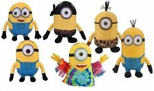 Despicable Me Minions Crane Assortment Plush Collection 6 pcs SET Licensed NEW