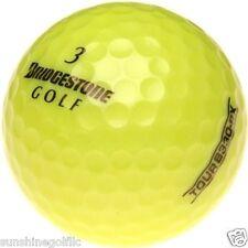 50 NEAR MINT Bridgestone Tour B330-RX YELLOW AAAA Used Golf Balls