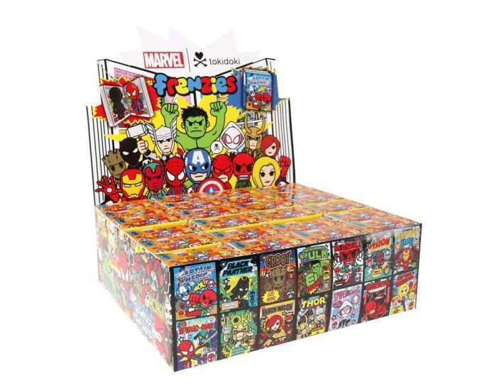 TOKIDOKI - MARVEL FRENZIES COMIC BOOK VINYL FIGURE BLIND BOX CASE OF 24 TY1019