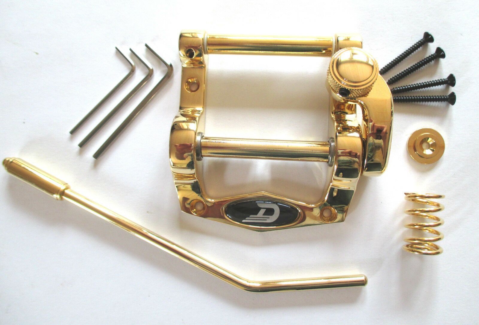Duesenberg Diamond Deluxe Tremolo Gold kurz