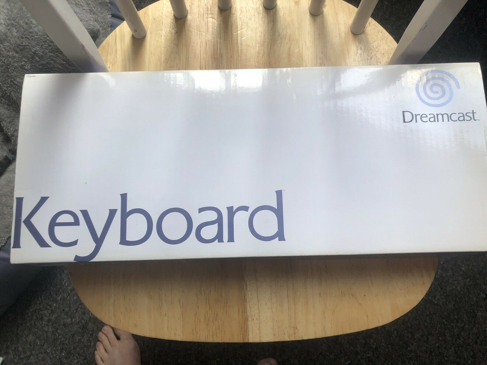 SEGA Dreamcast PAL Official Keyboard NEW Boxed