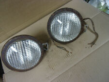 Farmall Tractor 6 Volt Tear Drop Head Light Lamp Bulb Sealed John Deere Set Vtg