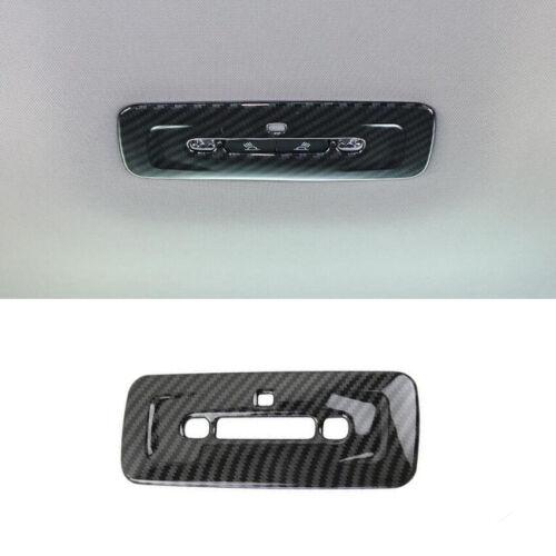 1PCS Carbon Fiber Rear Reading Light Lamp Cover Trim For Toyota Avalon 2018 2019