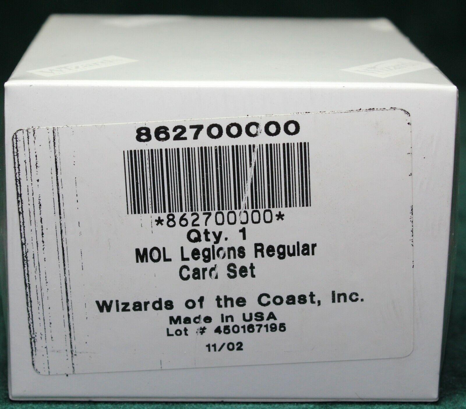 Legions Complete Set Factory Sealed MTG MOL Magic