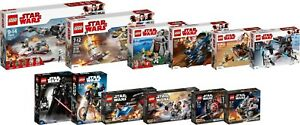 Lego Star Wars Collection New 2018 2018 75202 75200 75204 75533 75534 Set 12 N1 / 18