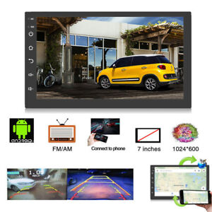 Details about 7'' HD Screen Car Radio Stereo MP5 Player 2 DIN Android 8 1  GPS FM WIFI Unit