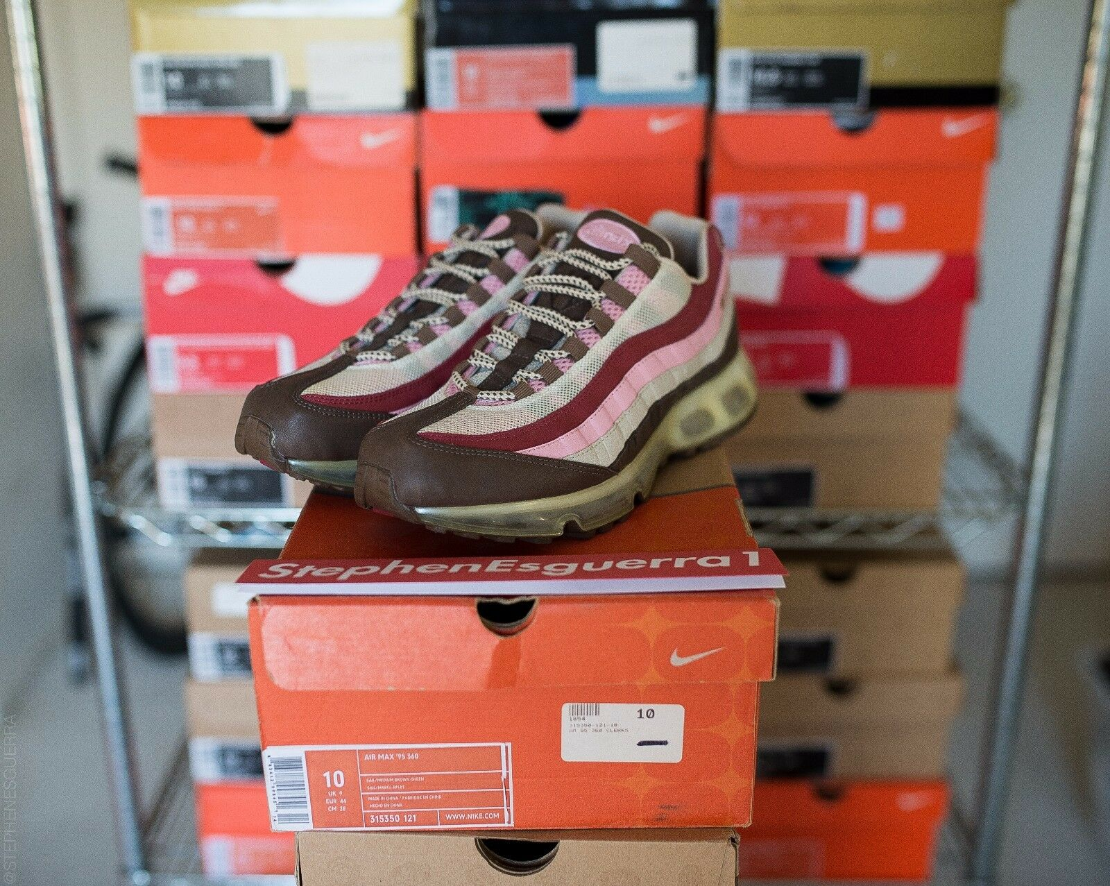 2018 Nike Air Max 95 360 DQM Bacon Clerks QS Comfortable Wild casual shoes