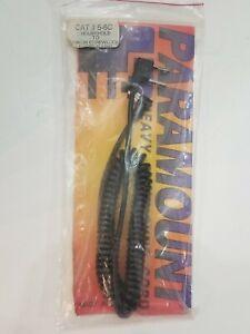 Paramount-Heavy-Duty-Sync-Cord-Cat-5-6C-Household-To-Nikon-Screwlock-5-039-NOS