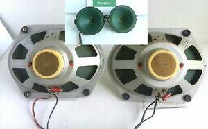 Saba-24cm-Alnico-vollstaendige-Palette-Greencone-Lautsprecher-Set-5-Ohm-2-Satelliten-4-Lautsprecher
