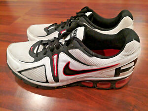 Details about Nike Air Max Agitate 4 Men's Running Shoes WhiteBlackRed Size 10.5