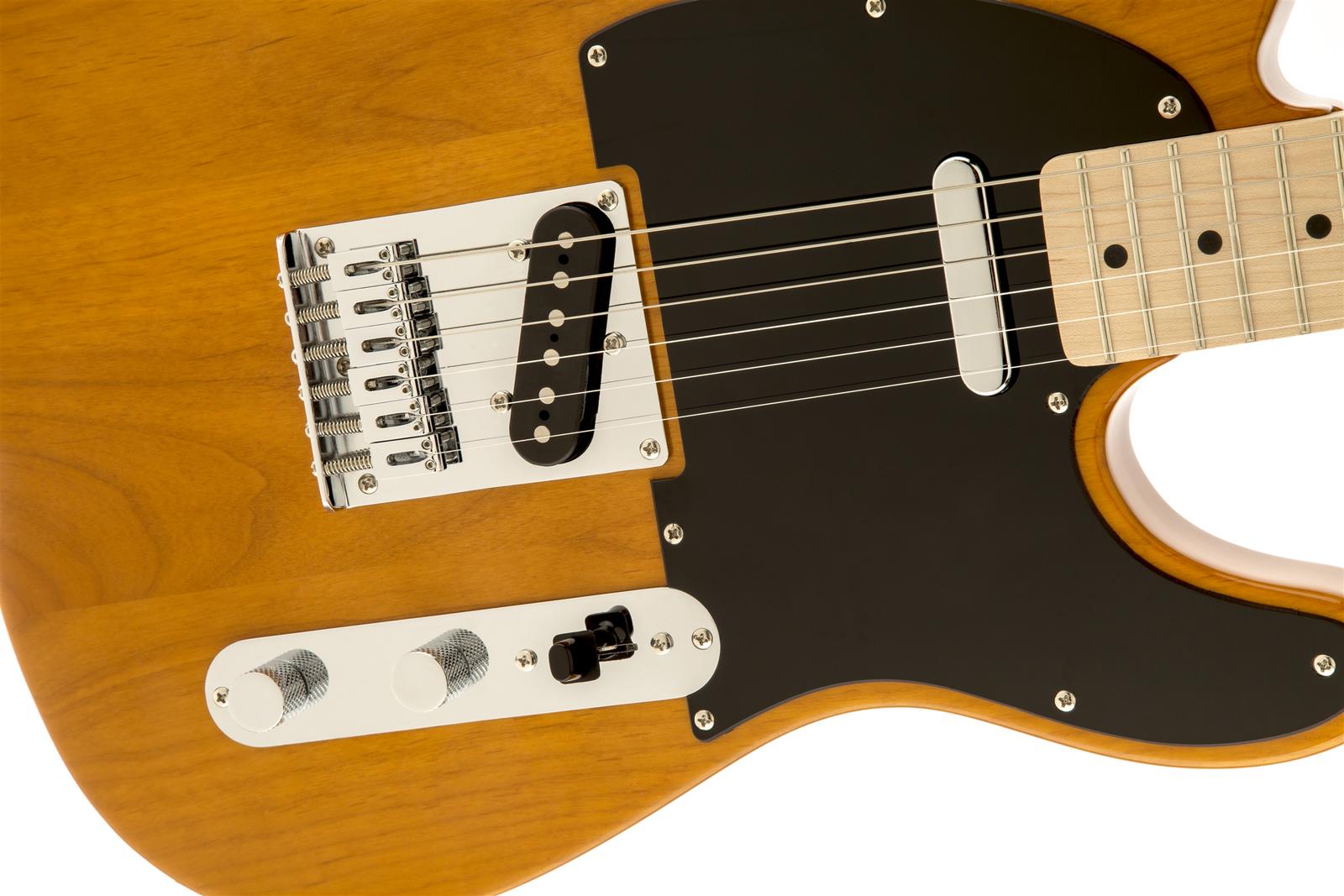 Fender Affinity Series™ Telecaster®, Maple Fingerboard, Butterscotch Blonde