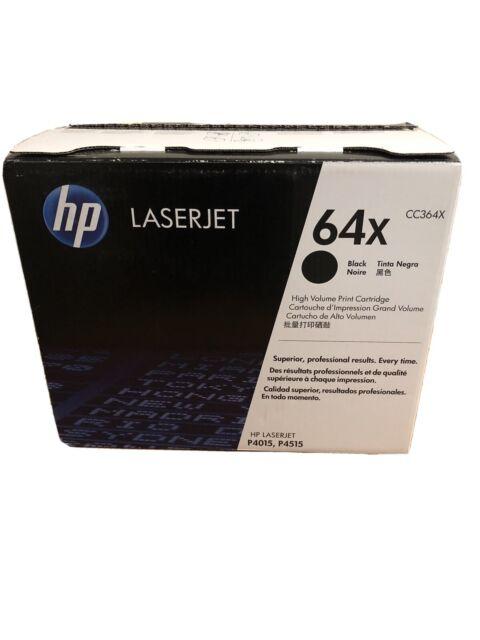 HP 64X black High yield toner CC364X OEM Genuine (OPEN BOX)