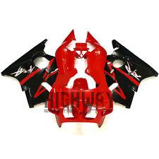 Red Black Fairings For Honda CBR400RR NC23 87-89 ABSPlastic Fairing Kit Bodywork