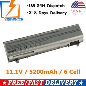6-Cell-Battery-For-DELL-Latitude-E6400-E6500-E6410-E6510-PT434-Power-Supply