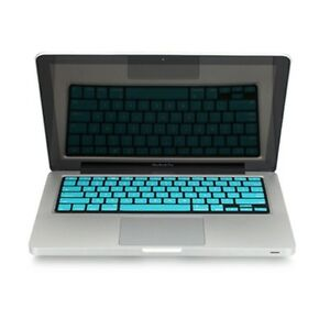 REDUCE-OVERHEAT-AQUA-BLUE-Silicone-Keyboard-Cover-for-Macbook-Pro-15-A1286