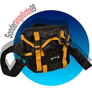 Importé De L'éTranger Schwarzwolf Rover Mini Sac à Dos Jaune Orange Noir Sac Photo Sac Photo-afficher Le Titre D'origine
