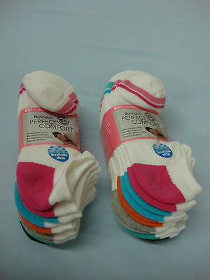NWT Womens Burlington Perfect Comfort Cushioned No Show Socks 12 Pair