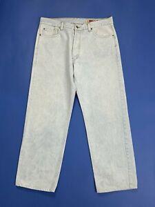 Holiday-jeans-uomo-usato-gamba-dritta-W38-tg-52-denim-boyfriend-straight-T5140