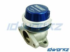 Turbosmart wg38 38mm WASTEGATE ESTERNA BLU PER HONDA CIVIC B16 D16 VTi Turbo