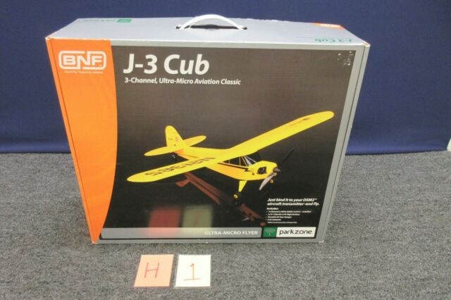 Horizon J 3 Cub Bnf Parkzone 3 Channel Ultra Micro Airplane Pkz3980 Rc Flyer New For Sale Online