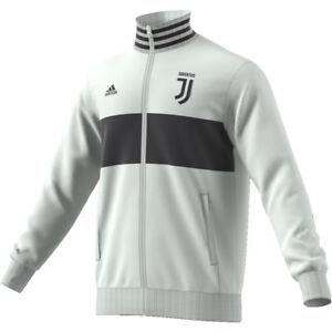 Détails sur Sweat Shirt Fermeture Éclair Combinaison Juventus Adidas 2018 Juve 3S Trk Haut