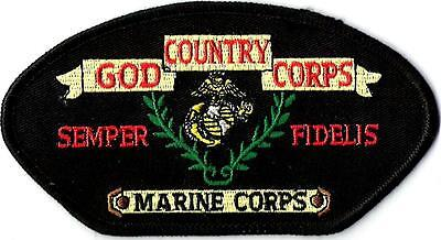 """2ND MARINE DIVISION RED MILITARY EMBROIDERED PATCH IRON-ON NEW 5x3/"""""""