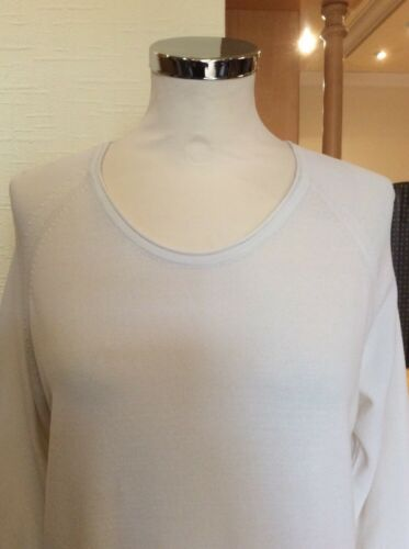 Size Rrp 14 Riani Cream Top Now Bnwt Fine £67 £149 Knit 6x0pxRq5
