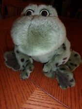 Bull Frog Jeremiah Collectible Gund Plush frog stuffed animal toy that croaks