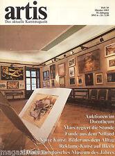 artis - Kunstmagazin - Ausgabe Oktober 1983