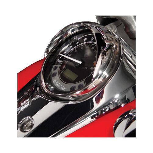 National Cycle Speedometer Chrome Cowl for Honda Shadow 750 04-12 N7821
