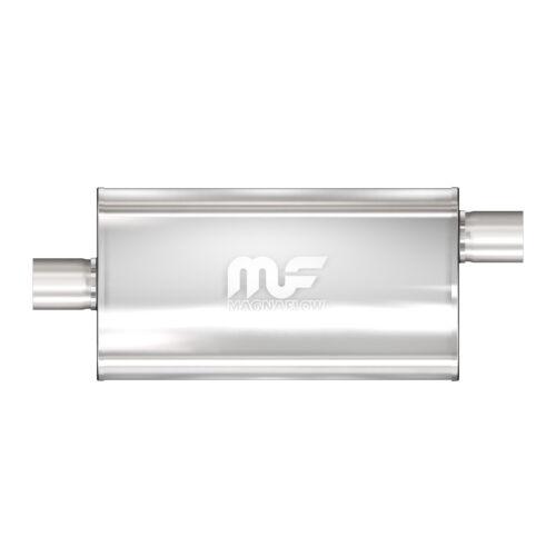 """Magnaflow 12909 High-Flow Performance Muffler 5x11x22 Oval 3.5/"""" Offset//Center"""