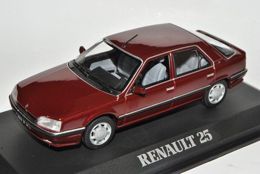 Renault 25 TX Sedán rojo marrón 1984-1992 1 1 1 43 norev modelo coche con o Oh... e7a013